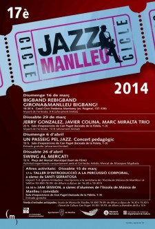 March 2014: 17th Manlleu Jazz Festival